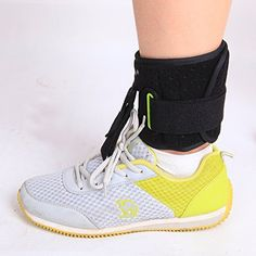 Healsmile® Ankle Brace Ankle and Foot Support Ankle Joint Foot Drop Orthoses Stroke Hemiplegia Rehabilitation, Foot-up - Drop Foot Brace Rehabilitation Supplies