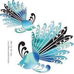 Maori Fantail - Piwaiwaka