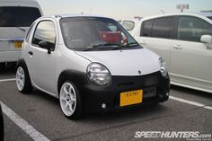 incredibly tiny Suzuki Twin kei car