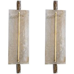 Pair of Sconces in Murano Glass | From a unique collection of antique and modern wall lights and sconces at https://www.1stdibs.com/furniture/lighting/sconces-wall-lights/