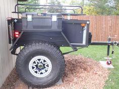 Kayak Bike Trailer, Jeep Camping Trailer, Off Road Camper Trailer, Trailer Build, Truck Camping, Expedition Trailer, Overland Trailer, Enclosed Trailer Camper, Off Road Camping