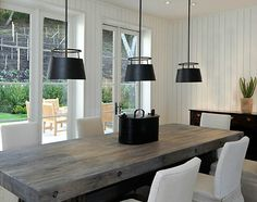 Proof that by black white and bar wood concept is modern yet classic.