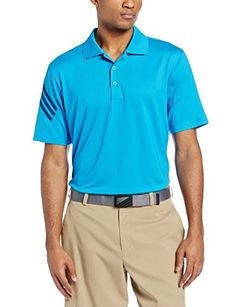 adidas Golf Mens Puremotion Climacool 3Stripes Sleeve Polo Solar BlueMidnight XXLarge >>> You can find more details by visiting the image link. Note:It is Affiliate Link to Amazon.