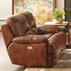 5185M Power Motion Loveseat By Cheers Sofa   Power Headrests And A USB Port  To Charge