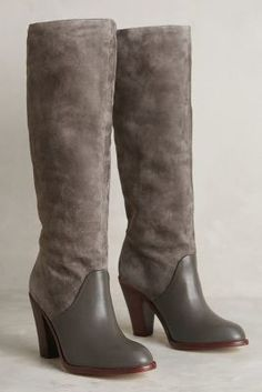 Splendid Sullie Boots Grey Boots #anthrofave