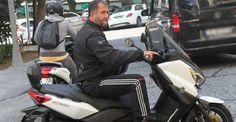 Ferrari'den inmeyen Sinan Serter, motosikletle görüntülendi