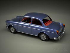 A Garagem Digital de Dan Palatnik | The Digital Garage Project: 1966 VW Type 3 Notchback