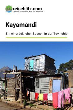 Ein Besuch in der Township Kayamandi ist ein sehr bewegendes Erlebnis. Bei einer Tour mit einem ehemaligen Bewohner lernen wir viel über das Leben dort. Outdoor Decor, Travel, Home Decor, Round Trip, Travel Report, Africa, Studying, Viajes, Decoration Home