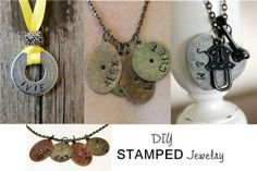 Diy Stamped Jewelry! Easy And Inexpensive!