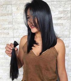 Haircuts Straight Hair, Long Bob Haircuts, Short Hair Cuts, Bob Hairstyles, Pretty Hairstyles, Hairstyle Ideas, Medium Hair Styles, Curly Hair Styles, Medium Black Hair