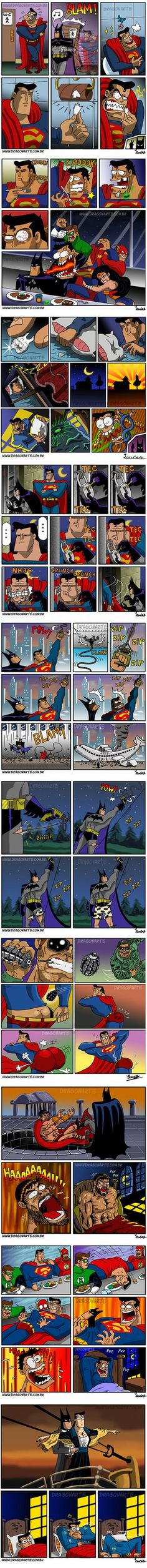 Batman y Superman Batman Et Superman, Real Batman, Univers Dc, Dc Memes, Marvel Dc Comics, Geek Culture, Funny Comics, Best Funny Pictures, The Funny
