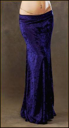 Long Velvet Skirts Custom made by Velvet Peacock Designs want this in burgundy