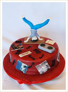 Image detail for -Extreme Breakdance Cake