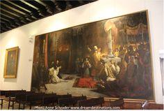 Admiral's Hall, Royal Alcazar, Seville Spain