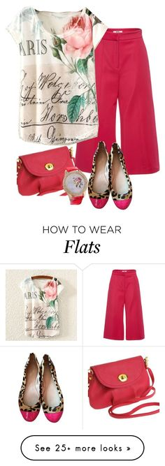 """""""Chic Pink"""" by westcoastcharmed on Polyvore featuring MSGM, Kate Spade and myfriendshop"""