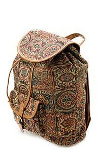 JACQUARD BACKPACK Fashion Backpack, Backpacks, Bags, Handbags, Backpack, Backpacker, Bag, Backpacking, Totes