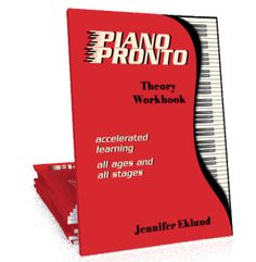 Easy Piano Theory Workbook - Piano Pronto Easy Piano Theory