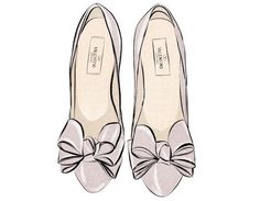 Even Illustrated these shoes are amazing! Valentino!