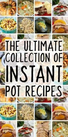 Everyone is trying to figure out how to use the instant pot electric pressure cooker and with this amazing collection of easy instapot recipes, you'll be set! If you're looking for instant pot recipes and Pressure Cooking Recipes, Slow Cooker Recipes, Crockpot Recipes, Healthy Recipes, Hot Pot Recipes, Best Instapot Recipes, Keto Recipes, Multi Cooker Recipes, Cheap Recipes