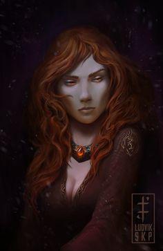 Melisandre+by+LudvikSKP.deviantart.com+on+@DeviantArt