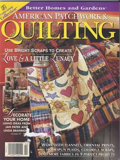 American Patchwork & Quilting February 1997 Issue #24 ~ Thimbleberries Quilt | eBay