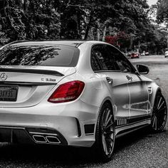 Look at this wonderful Mercedes AMG! What is your favorite amg model? What car would you get if you got to spend on a car? Mercedes Benz Amg, Mercedes Benz C63 Amg, Mercedes Car, Benz Car, 4 Door Sports Cars, Sport Cars, Mercedes Wallpaper, C 63 Amg, Mercedez Benz