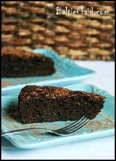 Chocolate Zucchini Cake for Baby's First Birthday