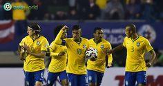 Bola World - Game Online Bola - Pada pertandingan pertama Group C Copa America 2015 yang berlangsung dini hari tadi, Brasil berhasil memenangkan pertandingan dengan kemenangan 2-1 atas Peru. Kemenangan tipis Brasil terhadap Peru ini berkat gol dari Douglas Costa diakhir pertandingan.