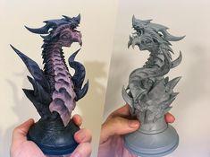 ArtStation - Dragon Bust, Tosh Hsu