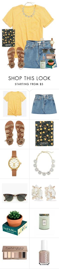 """Group pic from cheer camp in items⚜️"" by auburnlady ❤ liked on Polyvore featuring J.Crew, RE/DONE, Billabong, H&M, Tory Burch, Melissa Joy Manning, Voluspa, Urban Decay and Essie"