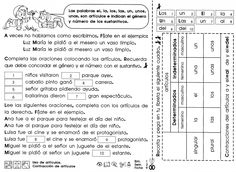 from 63428030 recorto y aprendo Spanish Worksheets, Spanish Classroom, Writing Prompts, Periodic Table, Sheet Music, Language, Author, Teaching, Activities