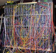 Modular synthesizer.  http://www.engadget.com/2005/03/18/music-thing-how-to-buy-a-modular-synth/