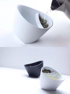 Кружка с заварником. Позволяет выбрать крепость чая