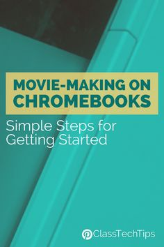 If you're looking for lesson ideas for movie-making on Chromebooks, this post has a step by step guide for getting started with Spark Video.