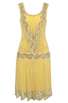 Frock And Frill Zelda Flapper Style Dress {This would be an amazing Halloween costume! I love flapper dresses.}