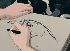 anime drawing gif - Google Search