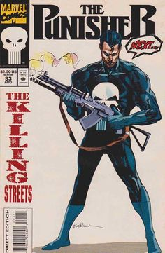 The Punisher (Frank Castle) is a fictional character, an anti-hero appearing in comic books based in the Marvel Comics Universe. Created by writer Gerry Conway and artists John Romita, Sr., and Ross Andru, the character made its first appearance in The Amazing Spider-Man #129 (February 1974).