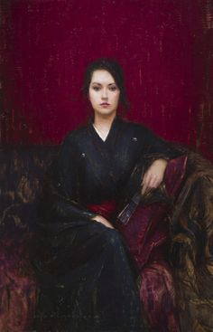 Find the latest shows, biography, and artworks for sale by Aaron Westerberg. Influenced by the American painters John Singer Sargent and Edmund Charles Tarbe… Edward Hopper, Portraits, Portrait Art, Traditional Paintings, Traditional Art, Figure Painting, Painting & Drawing, San Diego, Jack Vettriano