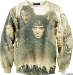 Lord of the Rings Sweatshirt. I would never take it off. Ever.