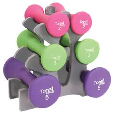I pinned this ToneFitness Dumbbell Set from the Fresh & Fit event at Joss & Main!