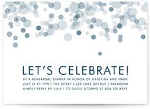 Time for Bubbly Rehearsal Dinner Invitations