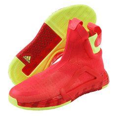 adidas Next Level Men's Basketball Shoes NBA Casual Neon Pink No Laces G27761 #adidas #BasketballShoes