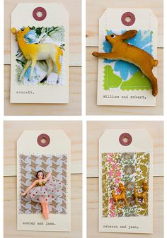 Adorable gift tags