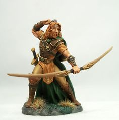 Male Ranger with Bow 2 - Visions in Fantasy (x1 fig)