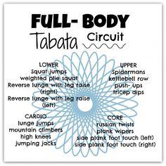 full body tabata