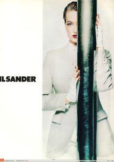 Tatjana Patitz for Jil Sander Campaign | Spring 1992
