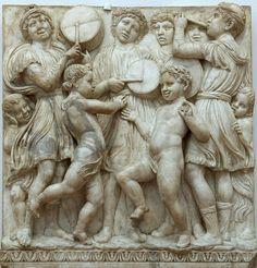 (detail) Cantoria of Luca Della Robbia (1400-82) - Opera del Duomo - Firenze Florence #TuscanyAgriturismoGiratola
