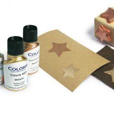 Coloris Stempelfarbe Gold 8710 P/ 50 ml