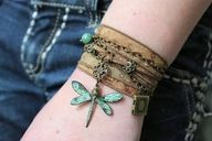 dragonfly on my wrist