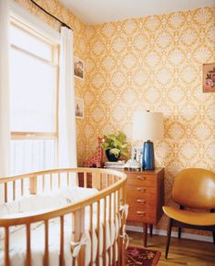 Give your little one's room a retro vibe. | http://domino.com